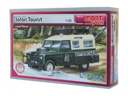 Stavebnice Monti 02 Safari Tourist 1:35