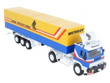 Stavebnice Monti 08/1 Kamion Liaz Special Turbo 1:48