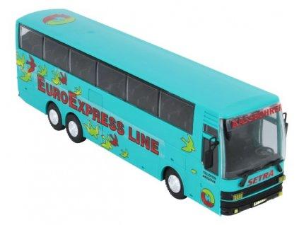 Stavebnice Monti 33 Euroexpress Line-Bus Setra 1:48
