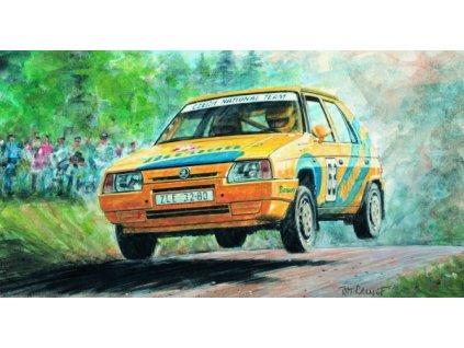 Model Kliklak Škoda Favorit Rallye 96