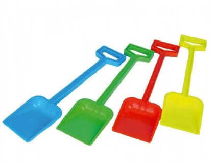 Lopata plastová 4 barvy nářadí