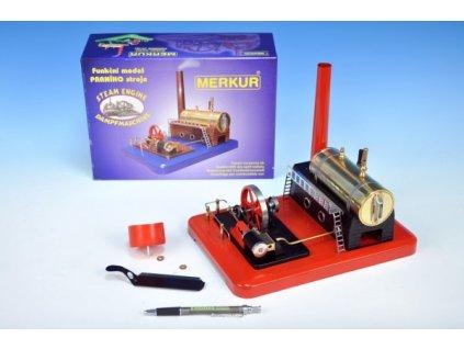 Stavebnice MERKUR funkční model parního stroje Standart
