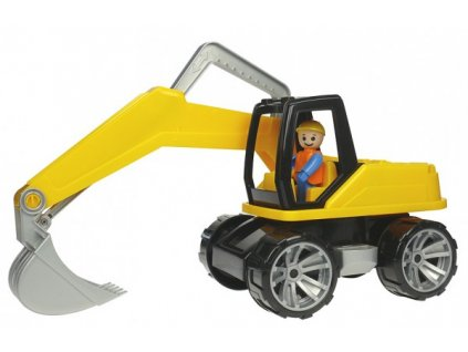 Auto Truxx bagr s figurkou