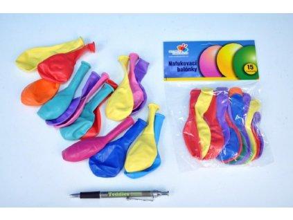 Balonek/Balonky nafukovací 15ks