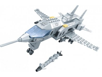 Stavebnice Dromader Vojáci Letadlo 22501 228ks