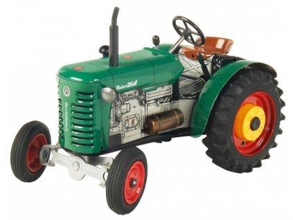Traktor Zetor 25A zelený na klíček 1:25
