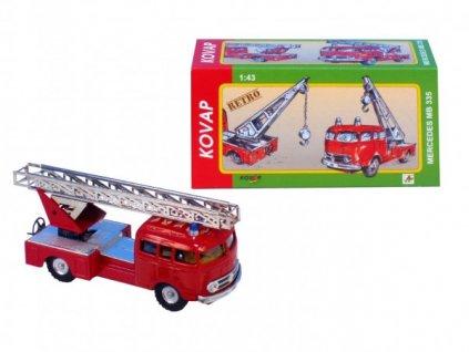 Auto Mercedes 335 hasiči 1:43