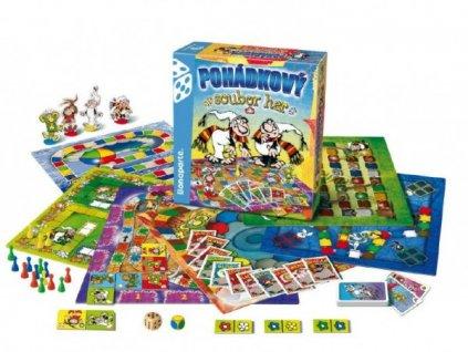Pohádkový soubor 9 her společenská hra