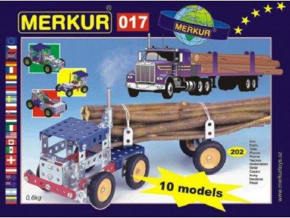 Stavebnice MERKUR 017 Kamion 10 modelů