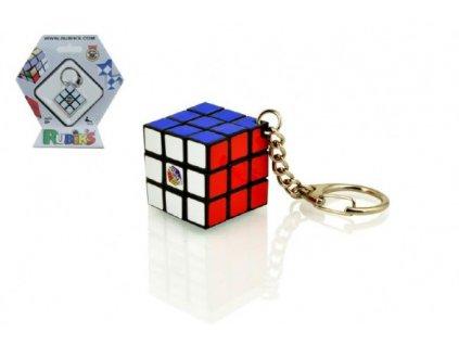 Rubikova kostka hlavolam 3x3x3 přívěšek