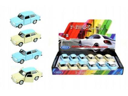 Auto Welly Trabant 601 4 barvy volný chod