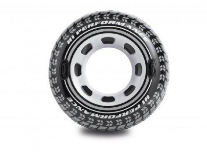 Nafukovací kruh pneumatika s úchyty 114 cm