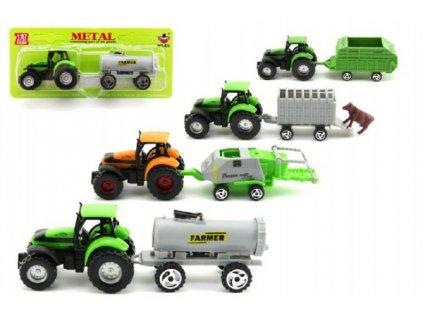 Traktor s přívěsem 6 druhů