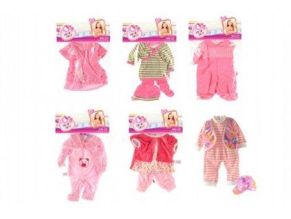 Oblečky/Šaty pro panenky/miminka velikosti 30-40cm 6 druhů
