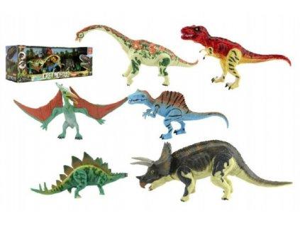 Sada Dinosaurus hýbající se 6ks