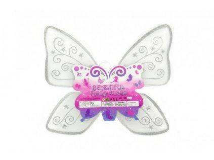 Křídla motýlí nylon  karneval