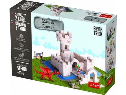 Stavějte z cihel Zámek stavebnice Brick Trick