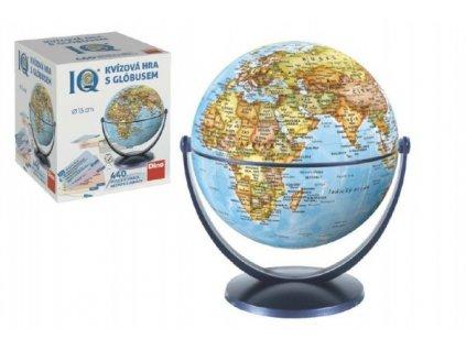 IQ kvízová hra s globusem společenská vědomostní hra