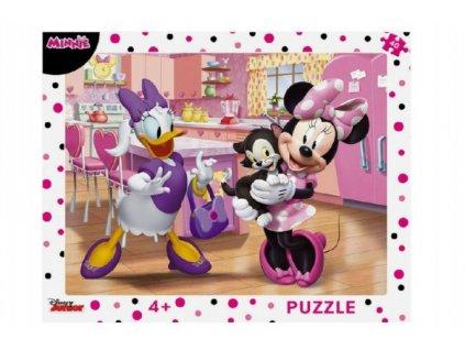 Puzzle deskové Minnie 40 dílků