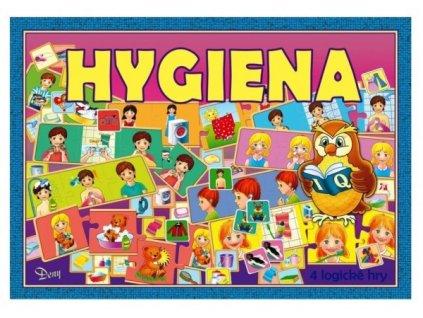 Hygiena 4 logické hry společenská hra