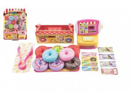Prodejna donutů/koblih s doplňky