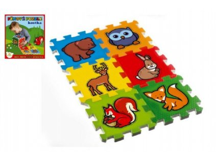 Pěnové puzzle Moje první lesní zvířátka 6ks