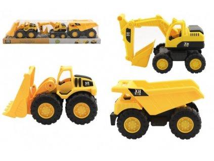 Stavební stroje 3ks