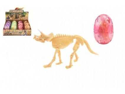 Fosilie Dinosaurus ve vajíčku 4 barvy