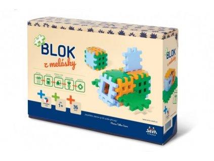 Stavebnice Blok z melásky