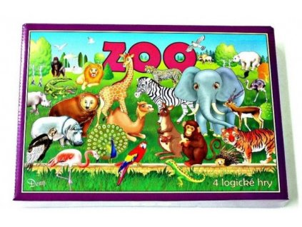 Zoo 4 logické hry společenská hra