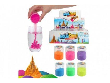Kouzelný vodní písek tvořivá tvarovací hmota sliz 6 barev