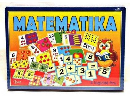 Matematika 4 logické hry společenská hra