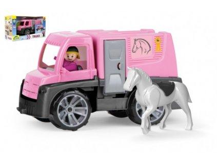 Auto Truxx přeprava koní s figurkami