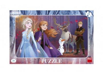 Puzzle deskové Ledové království II/Frozen II 15 dílků
