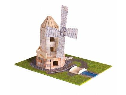 Pack Stavějte z cihel Větrný mlýn stavebnice Brick Trick + lepidlo grátis