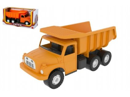 Auto Tatra 148 oranžová sklápěč