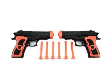 Pistole 2ks na přísavky