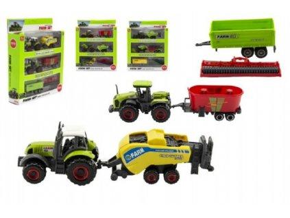 Sada farma zemědělské stroje 6ks 4 druhy