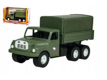 Auto nákladní Tatra 148 vojenská khaki