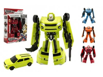 Transformer auto/robot 4 barvy