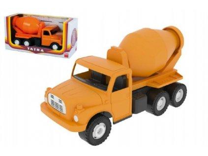 Auto Tatra 148 domíchávač oranžová