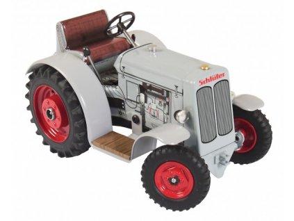 Traktor Schlüter DS 25 šedivý 1:25 na klíček