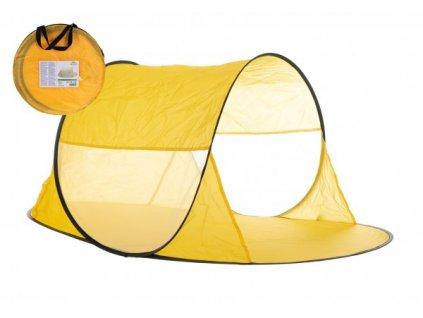 Stan plážový žlutý samorozkládací v látkové tašce