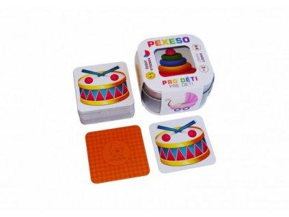 Pexeso Pro děti 64 karet Hmaťák