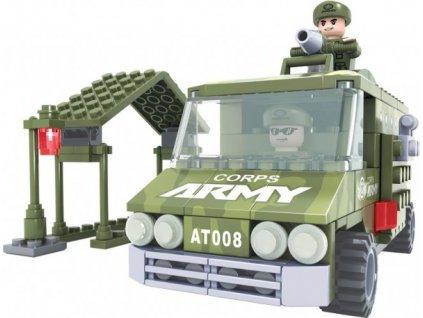 Stavebnice Dromader Vojáci Auto 22407 166ks