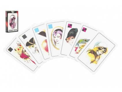 Černý Petr společenská hra karty