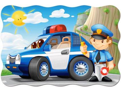 Puzzle Policejní hlídka