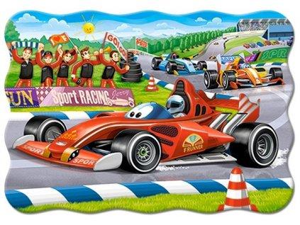Puzzle Závodní formule 30 dílků