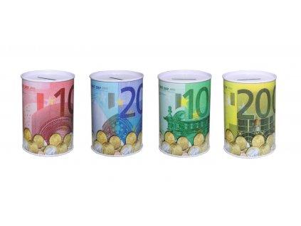 Pokladnička Euro kovová