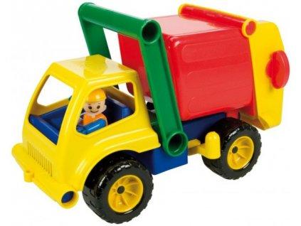 Auto popeláři s aktivní figurkou